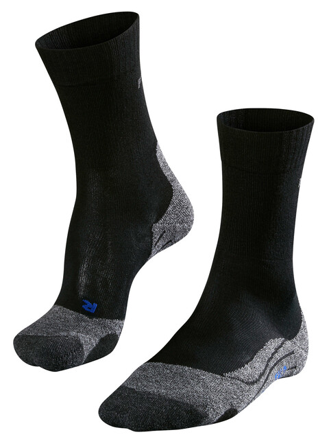 Falke TK2 Cool - Calcetines Mujer - gris/negro